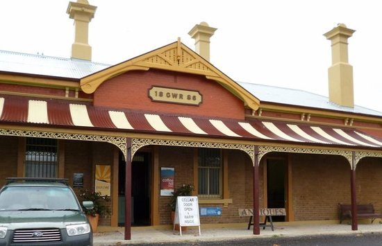 Millthorpe, Australia: Historic railway station