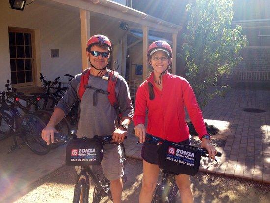 Bonza Bike Tours: Bonza Bikes Sydney