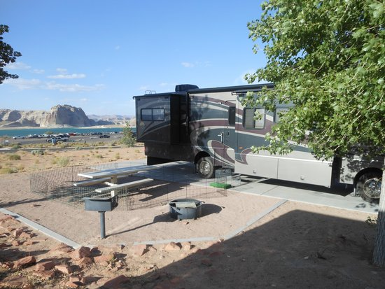 Wahweap Campground: campsite