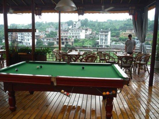 Trippers Carpe Diem Hostel Yangshuo : Out the window