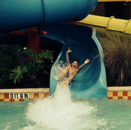 Vacation Villas at Fantasy World I: Fun on the slide