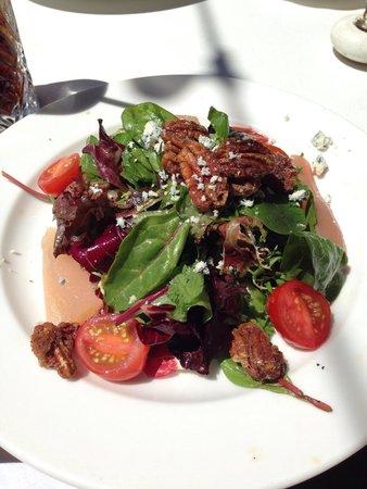 Smith : Wonderful poached pear salad