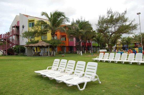 Prodigy Beach Resort Marupiara: área de frente para praia