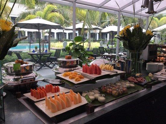 Shinta Mani Resort: Breakfast buffet