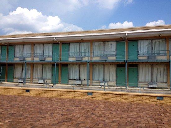 National Civil Rights Museum - Lorraine Motel: Motel
