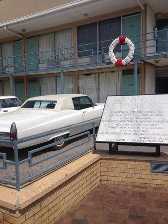 National Civil Rights Museum - Lorraine Motel: Mlk