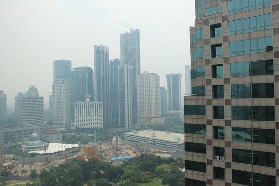 Traders Hotel, Kuala Lumpur: View from the room