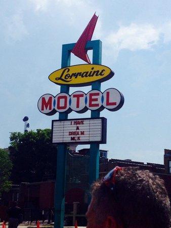 National Civil Rights Museum - Lorraine Motel: Lorraine motel