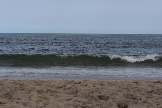 Seven Presidents Oceanfront Park: the waves