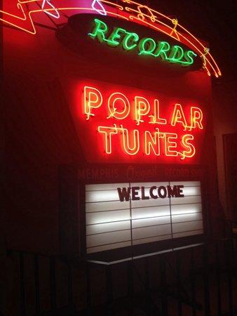 Memphis Rock 'n' Soul Museum: Sign