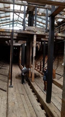 Edwin Fox Maritime Museum: in the hull