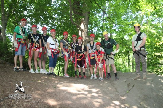 Hocking Hills Canopy Tours : Our Canopy Tour Group
