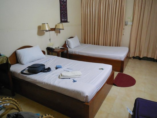 Dara Reang Sey Hotel Phnom Penh: This is a single/twin room.