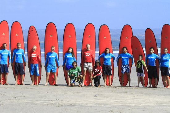 Pro Surf School: Great group today!