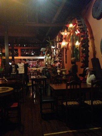 Rio Scenarium: inside the restaurant