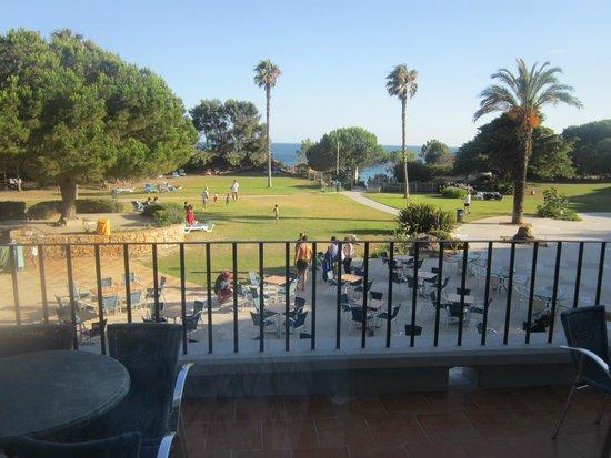 Alfamar Hotel: Jardim e acesso à praia