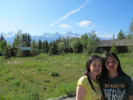 Dornan's Spur Ranch Cabins: いい眺め