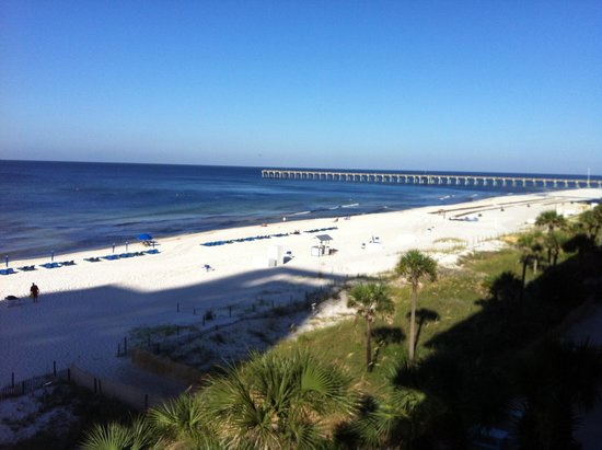 Osprey on the Gulf: View of Beach from Suite