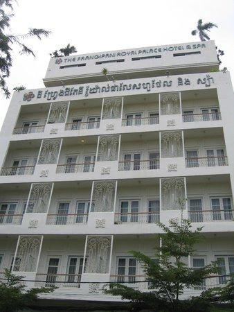 The Frangipani Royal Palace Hotel: Hotel view