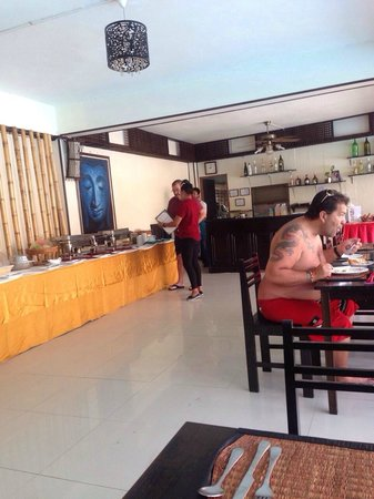Bamboo Beach Hotel & Spa : Buffet for breakfast...