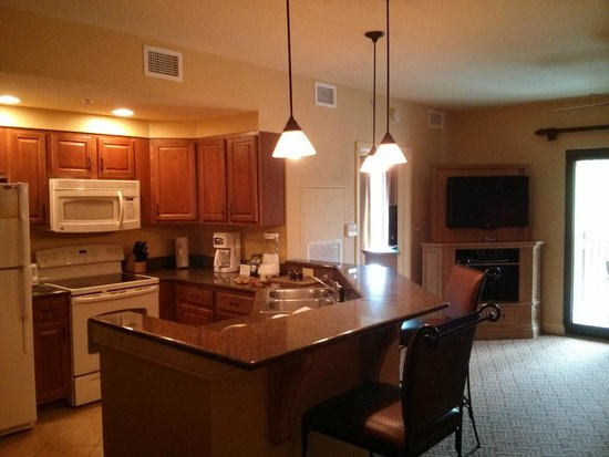 Wyndham Bonnet Creek Resort: living area