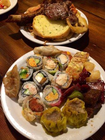 Zen Buffet: My plate...