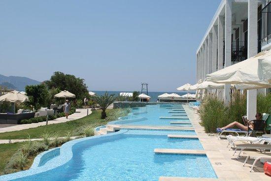 Jiva Beach Resort: вид из номера 126