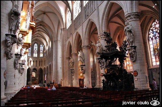 Cathédrale Saints-Michel-et-Gudule de Bruxelles : Vista 2