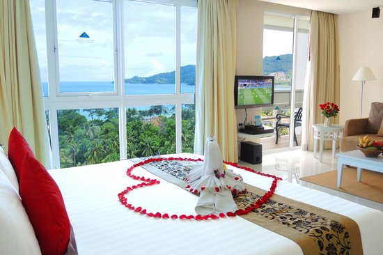 Andaman Beach Suites Hotel Super Deluxe Sea View