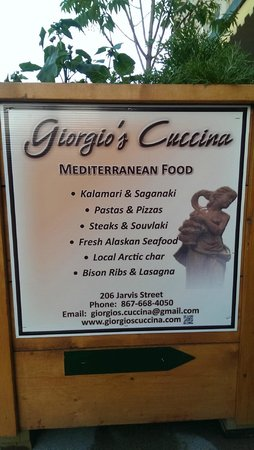 Giorgio's Cuccina: Food you can expect.