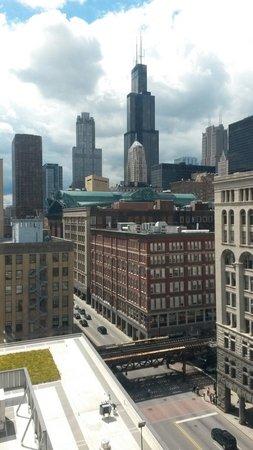 Congress Plaza Hotel: Vistas desde el piso 10