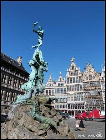 Grote Markt van Antwerpen: Vista