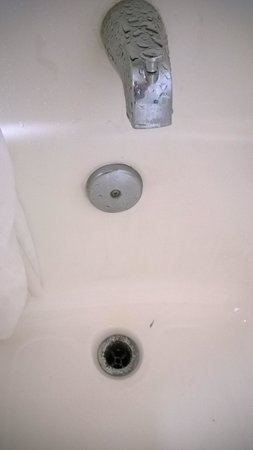 Extended Stay America - Orange County - Katella Ave.: Leaky bathroom drain