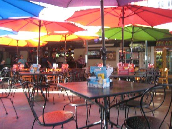 The Beach House Bar & Grill: Undeer an Umbrella Sky - The Beach House - Picture Of The Beach House Bar & Grill