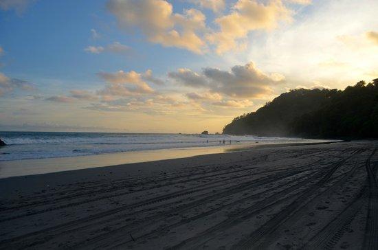 Playa Manuel Antonio: sunset