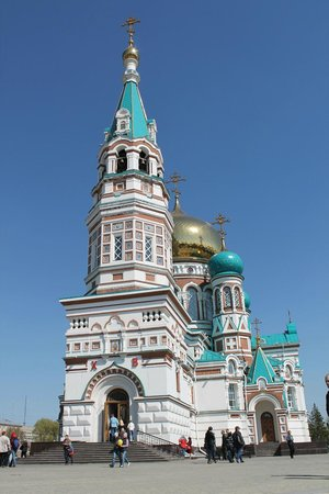 Assumption Cathedral (Uspenskij sobor): Собор весной