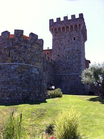Castello di Amorosa: One of the Castle Towers