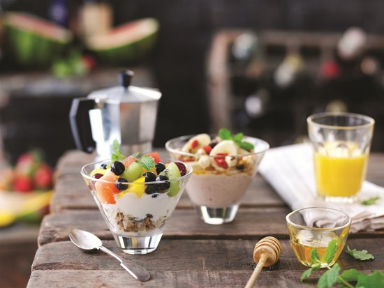The Flying Horse : Our Breakfast Cups