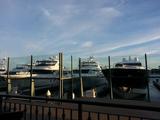 Balboa Bay Resort: View from the Waterline Restaurant