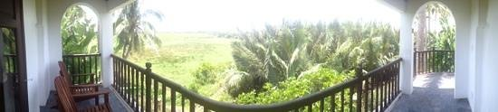 Hoi An Ancient House Village Resort and Spa: balcony view