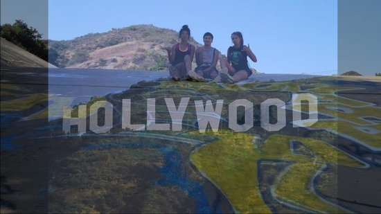 """Hollywood Sign: """"Get Up, Get Out,and Get Adventuring"""""""