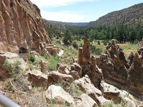 Pueblo at Bandelier National Monument