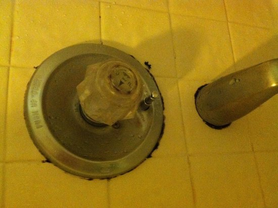 River View Inn: Nasty mold and mildew in shower