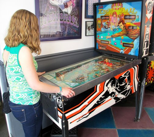 Parker's Drive-In Restaurant: Pinball Wizards Can Try Their Hand