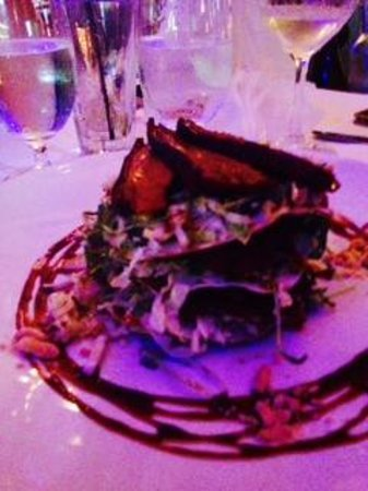 Shuck: peking duck salad