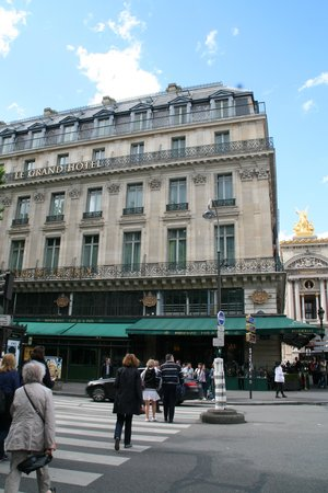 InterContinental Paris Le Grand: Exterior view of hotel