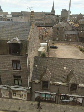 Hilton Garden Inn Aberdeen City Centre: View from window 1