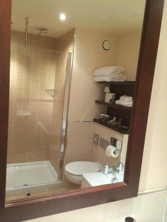 Hilton Garden Inn Aberdeen City Centre: bathroom 1