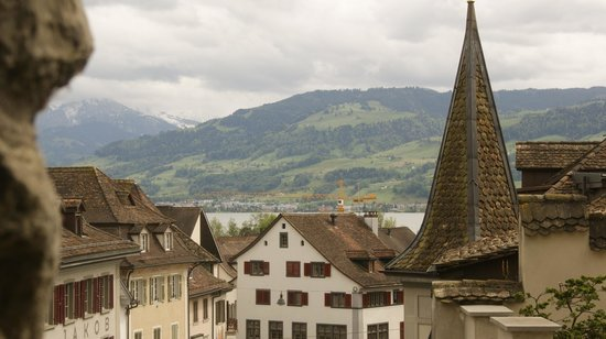 Schloss Rapperswil: At the top