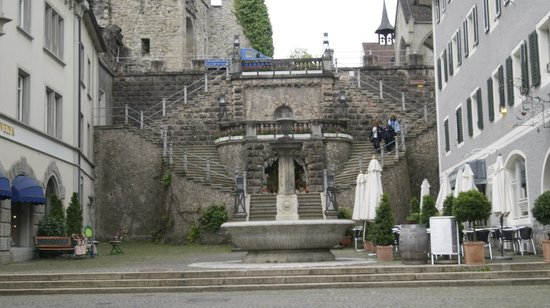 Schloss Rapperswil: The Grotto